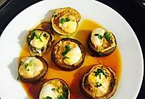 蒸香菇鹌鹑蛋的做法