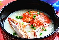 花蟹粥—冬季暖身的做法