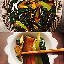 #换着花样吃早餐#早餐小配菜——脆口黄瓜咸菜