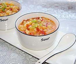#秋天怎么吃#蔬菜疙瘩汤的做法