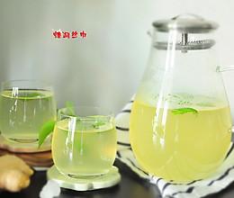 姜汁薄荷冰糖饮的做法