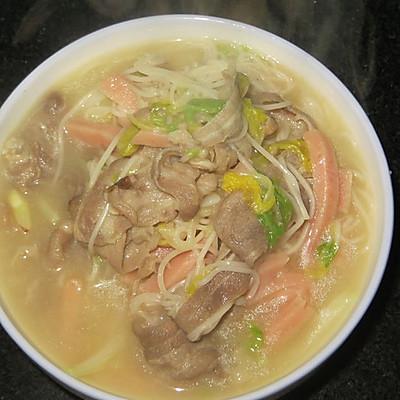 羊肉汤面 冬季暖胃 方便啊 快捷啊