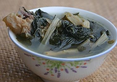 菜干猪骨(猪肺)汤