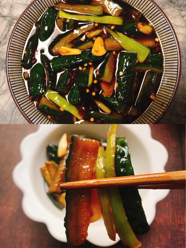 早餐小配菜——脆口黄瓜咸菜