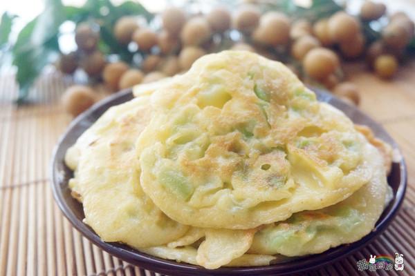 美味丝瓜饼的做法