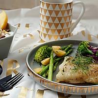 莳萝煎巴沙鱼#一起吃西餐#的做法图解8