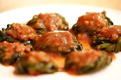 豇豆酿肉—迷迭香