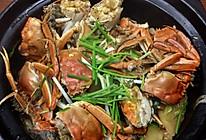大闸蟹粉丝煲的做法