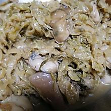 海蛎子五花肉炖酸菜