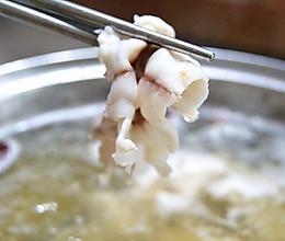 斑鱼火锅(切鱼片详细步骤,不怕学不会哦~)的做法
