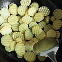 香煎孜然土豆片的做法图解4