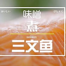 味噌煮三文鱼