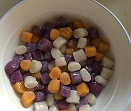 芋圆,地瓜圆,紫薯圆的做法