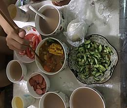 萝卜玉米土豆炖牛肉的做法