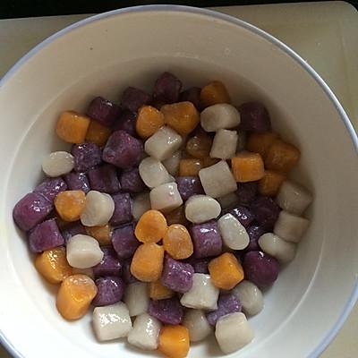 芋圆,地瓜圆,紫薯圆