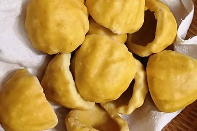玉米面豆面窝头