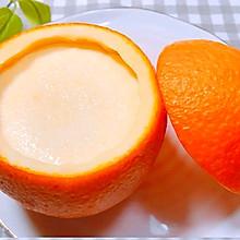 旺仔牛奶神仙吃法~橙子布丁