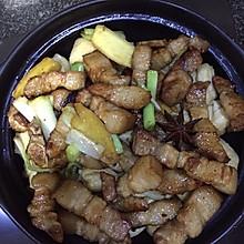 油豆腐炖红烧肉