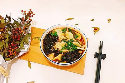 鲜香牛肉酸汤水饺