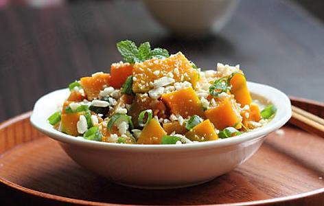 蚝油焖南瓜的做法