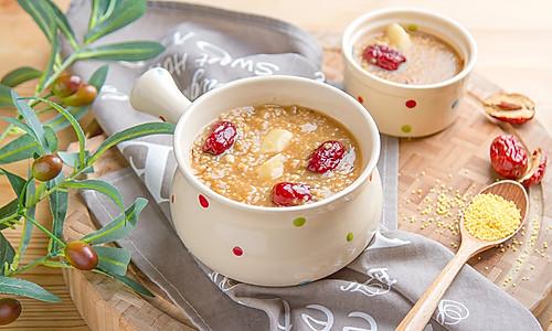 山药小米红糖粥的做法
