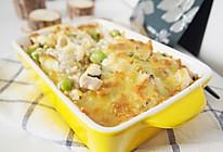 #精品菜谱挑战赛#鸡肉青豆焗饭的做法