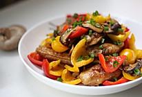多彩香菇烧鸡翅的做法