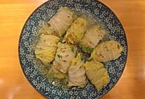 肉末白菜卷的做法