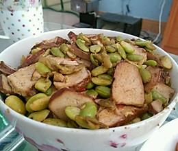 香干炒黄豆的做法