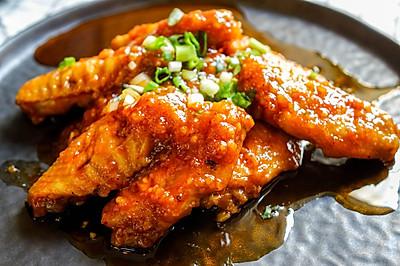 甩韩式炸鸡几条街 | 蜂蜜鸡翅