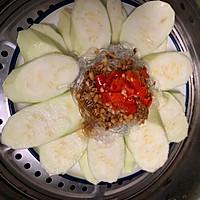 #秋天怎么吃#蒜蓉粉丝蒸丝瓜的做法图解8
