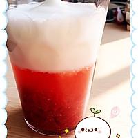 季节限定 草莓欧蕾~ 超多果肉 好吃!的做法图解3