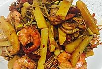 麻辣基围虾的做法
