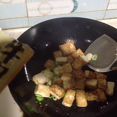 大喜大牛肉粉试用之干烧豆腐的做法 步骤3