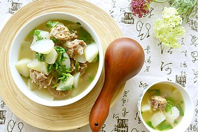 牛尾萝卜煲——阴雨绵绵来碗汤吧