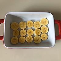 #换着花样吃早餐#零难度甜品~香蕉吐司布丁的做法图解3