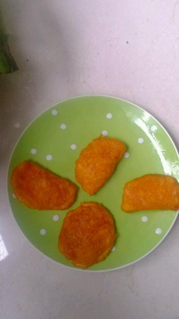 南瓜馅的南瓜饼的做法