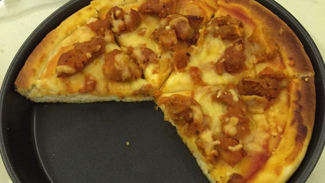 超简单~新奥尔良烤鸡披萨的做法