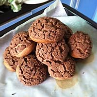 泡芙(巧克力酥皮,卡仕达酱内馅)的做法图解6