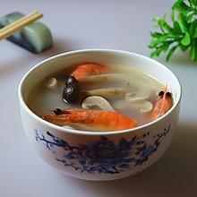鲜虾菌菇汤#好侍西趣·奶炖浓情#