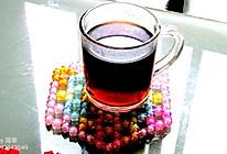 大麦黑糖茶#比暖男更暖的是#的做法