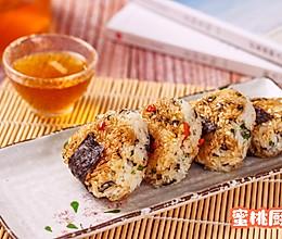日式煎香饭团的做法