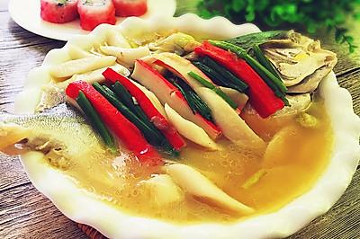 土法白烧鲳鱼
