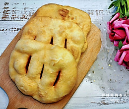 #憋在家里吃什么#网红火爆了的炸油饼,宅家分分钟变大厨的做法