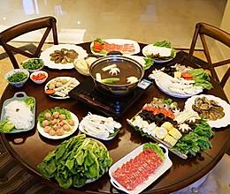 冬日温暖-家庭版自制清汤火锅的做法
