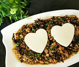榄菜肉末豆腐的做法