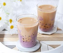#爱乐甜夏日轻质甜蜜#芋泥波波奶茶的做法