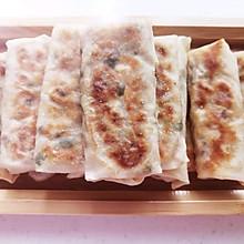 #巨下饭的家常菜#香煎白萝卜卷饼