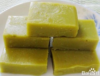 宝宝菜谱----豌豆黄(12+)的做法