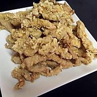 椒盐排条的做法图解5